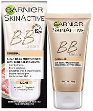 Voňavky, Parfémy, kozmetika BB krém na tvár - Garnier Skin Active BB Cream Original 5in1 Daily Moisturiser