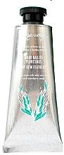 Voňavky, Parfémy, kozmetika Scrub na ruky s extraktom z aloe vera a jahodovými semienkami - Uoga Uoga My New Feather Hand Scrub