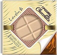 Voňavky, Parfémy, kozmetika Púder-bronzer na tvár - Lovely Creamy Chocolate Deep Matte Bronze