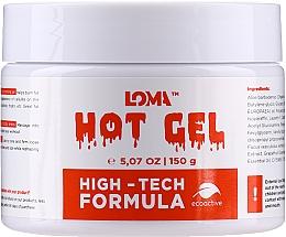 Voňavky, Parfémy, kozmetika Hrejivý krémový gél na telo - Loma Sports Hot Gel Cream