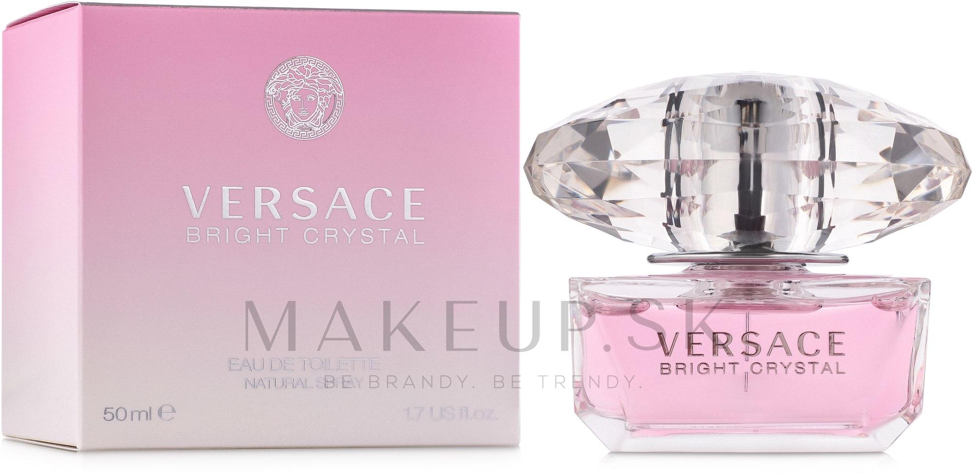 Versace Bright Crystal - Toaletná voda — Obrázky 50 ml