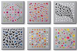 Voňavky, Parfémy, kozmetika Sada nálepiek na nechty 42751 - Top Choice Nail Decorations Stickers Set