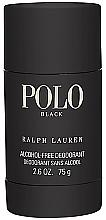 Voňavky, Parfémy, kozmetika Ralph Lauren Polo Black - Tuhý deodorant