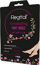 Voňavky, Parfémy, kozmetika Peelingové ponožky na nohy - Regital Exfoliating Foot Socks