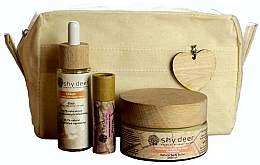 Voňavky, Parfémy, kozmetika Sada - Shy Deer Zero Waste Set (elixir/30ml+body/butter/100ml+lip/butter/12ml+bag)