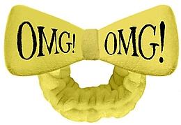 Voňavky, Parfémy, kozmetika Kozmetická čelenka na vlasy, žltá - Double Dare OMG! Yellow Hair Band