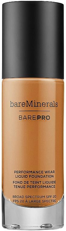 Make-up na tvár - Bare Escentuals Bare Minerals Barepro 24-Hour Full Coverage Liquid Foundation Spf20 — Obrázky N2