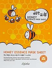 Voňavky, Parfémy, kozmetika Textilná maska s medom - Esfolio Pure Skin Essence Mask Sheet Honey