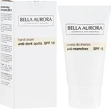 Voňavky, Parfémy, kozmetika Krém na ruky proti pigmentom - Bella Aurora M7 Anti Dark Spots Hand Cream SPF15