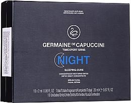 Voňavky, Parfémy, kozmetika Nočný komplex na tvár - Germaine de Capuccini Timexpert SRNS Night Sleeping-Cure