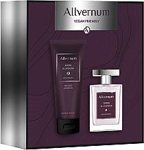 Voňavky, Parfémy, kozmetika Allvernum Pepper & Lavender - Sada (edp/100ml + sh/gel/200ml)
