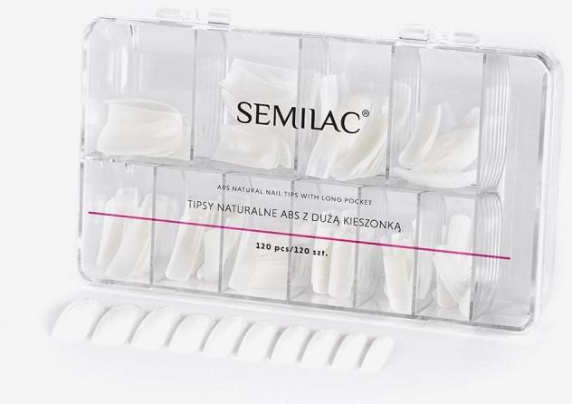 Prírodne nechty - Semilac Natural Tips Box