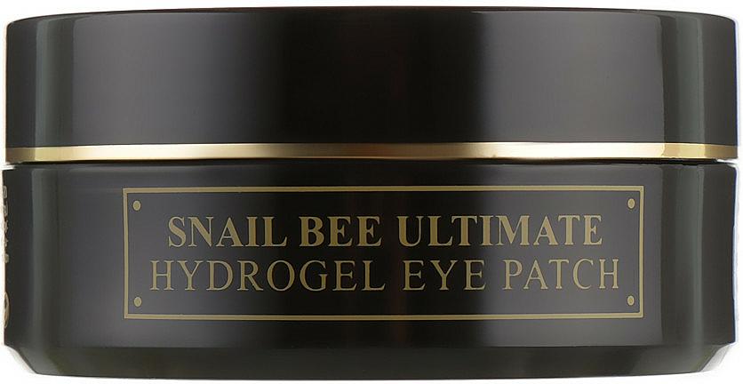 Hydrogélové náplasti so slimačím mucínom a včelím jedom - Benton Snail Bee Ultimate Hydrogel Eye Patch — Obrázky N1