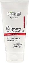 Voňavky, Parfémy, kozmetika Stimulačná krémová maska na tvár - Bielenda Professional Individual Beauty Therapy 3in1 Skin Stimulating Face Cream Mask