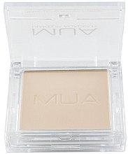 Priehľadný prášok na tvár - MUA Translucent Pressed Powder — Obrázky N2