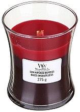 Voňavky, Parfémy, kozmetika Vonná sviečka v pohári - WoodWick Hourglass Trilogy Candle Sun Ripened Berries