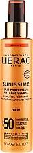 Voňavky, Parfémy, kozmetika Opaľovacie mlieko pre telo SPF50 - Lierac Sunissime