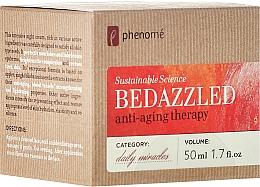 Voňavky, Parfémy, kozmetika Regeneračný nočný krém - Phenome Sustainable Science Bedazzled Anti-Aging Therapy