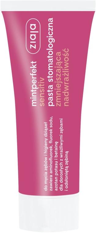 "Zubná pasta ""Zníženie precitlivenosťi"" - Ziaja Mintperfect Sensitiv — Obrázky N1"