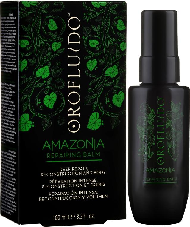 Nezmazateľný revitalizačný balzam na vlasy - Orofluido Amazonia Repairing Balm