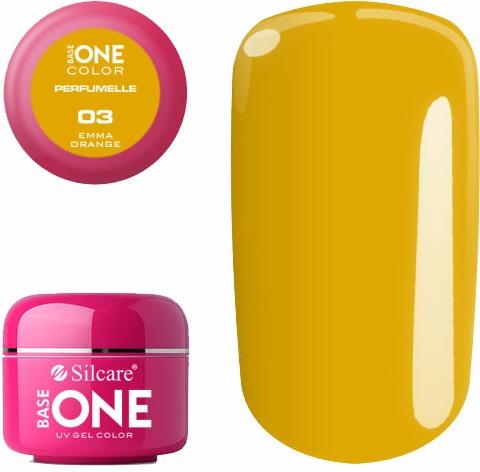 Aromatizovaný gél na nechty - Silcare Base One Perfumelle UV Gel Color
