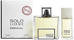 Voňavky, Parfémy, kozmetika Loewe Solo Esencial - Sada (edt/100ml+ edt/30ml)