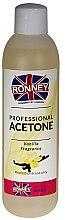 """Voňavky, Parfémy, kozmetika Prostriedok pre odstránenie """"Vanilka"""" - Ronney Professional Acetone Vanilia"""
