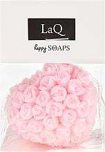 """Voňavky, Parfémy, kozmetika Prírodné mydlo ručne vyrábané """"Srdce s ružami"""" s višňovou vôňou - LaQ Happy Soaps Natural Soap"""