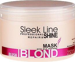 Voňavky, Parfémy, kozmetika Maska na vlasy - Stapiz Sleek Line Blush Blond Mask