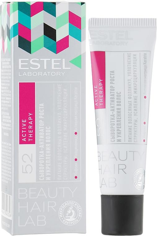 Sérum na aktiváciu rastu a spevnenie vlasov - Estel Beauty Hair Lab 52 Active Therapy