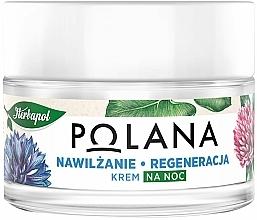 Voňavky, Parfémy, kozmetika Hydratačný a regeneračný nočný krém - Polana
