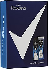 Voňavky, Parfémy, kozmetika Sada - Rexona Men Cobalt (deo/150ml + sh/gel/250ml)