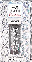 Voňavky, Parfémy, kozmetika Naomi Campbell Cat Deluxe Silver - Toaletná voda (mini)