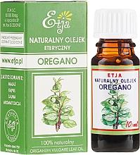 Voňavky, Parfémy, kozmetika Prírodný esenciálny olej z Oregano - Etja Natural Origanum Vulgare Leaf Oil