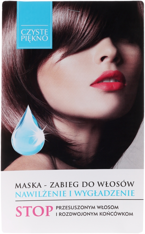 Vlasová maska hydratujúca a vyhladzujúca - Czyste Piękno