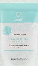 Voňavky, Parfémy, kozmetika Detoxikačná maska na vlasy na čistenie a detoxikáciu - Khadi Detox Hair Mask