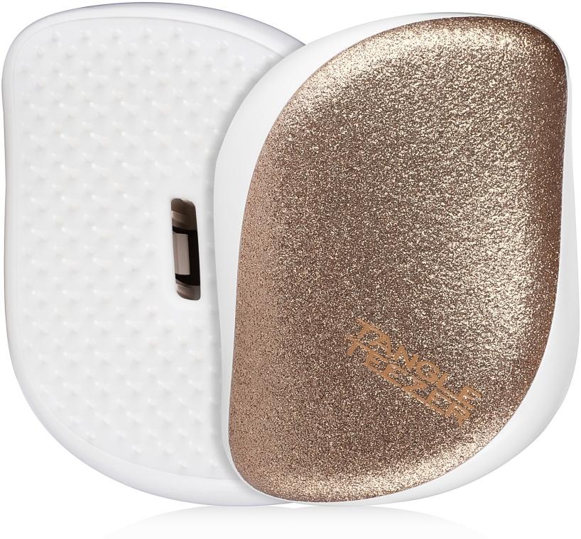 Kompaktná kefa na vlasy - Tangle Teezer Compact Styler Glitter Gold