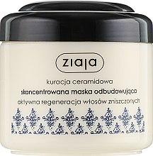 """Voňavky, Parfémy, kozmetika Maska na poškodené vlasy """"Intenzívna výživa"""" - Ziaja Mask"""