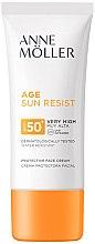 Voňavky, Parfémy, kozmetika Opaľovací krém na tvár - Anne Moller Age Sun Resist Protective Face Cream SPF50+