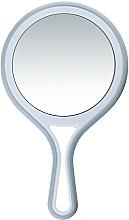 Voňavky, Parfémy, kozmetika Obojstranné zrkadlo s rukoväťou, h 12,5 cm - Titania