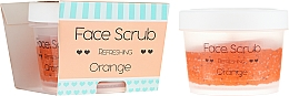 """Voňavky, Parfémy, kozmetika Scrub na tvár a pery """"Pomaranč"""" - Nacomi Refreshing Face Orange"""