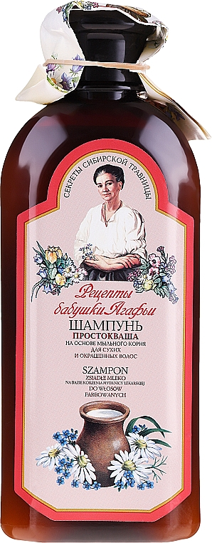 "Šampón ""Kyslé mlieko"" - Recepty babičky Agafji"