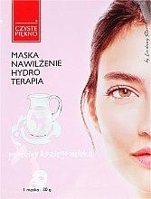 Voňavky, Parfémy, kozmetika Maska na tvár z kozieho mlieka - Czyste Piekno Hydro Therapia Face Mask