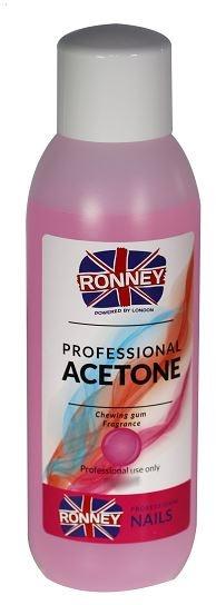 "Prostriedky na odstránenie laku ""Žuvačka"" - Ronney Professional Acetone Chewing Gum"
