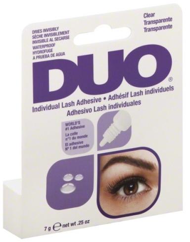 Lepidlo na mihalnice vo zväzkoch - Duo Individual Lash Adhesive