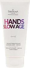 Voňavky, Parfémy, kozmetika Peeling na ruky - Farmona Hands Slow Age Triple Active Anti-ageing Hand Scrub