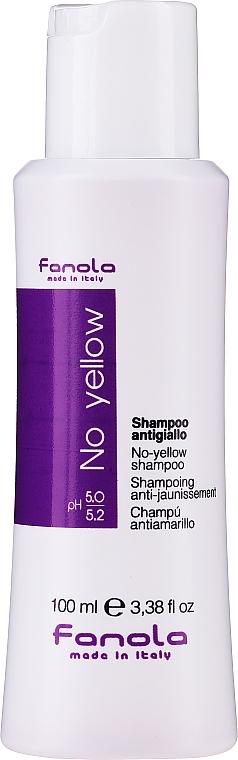 Šampón pre neutralizáciu žltnutia - Fanola No-Yellow Shampoo