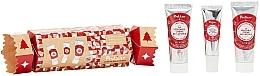 Voňavky, Parfémy, kozmetika Sada - Polaar Christmas 2020 Lapland Cracker Gift Set (mini/hand/cr/25ml+lip/balm/10ml+mini/cr/25ml)