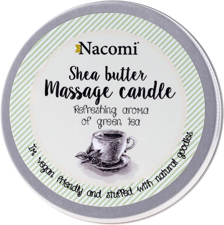 Sviečka s olejom pre telo - Nacomi Shea Butter Massage Candle