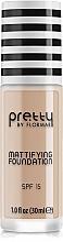 Voňavky, Parfémy, kozmetika Zmatňujúci make-up - Flormar Pretty Mattifying Foundation